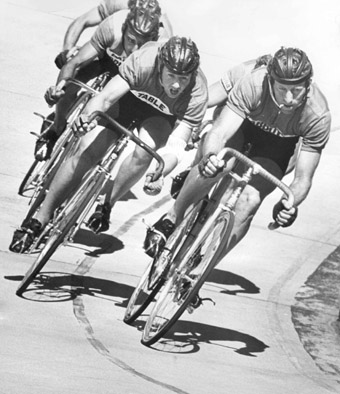 6-day track cycling in Launceston, 1970s
